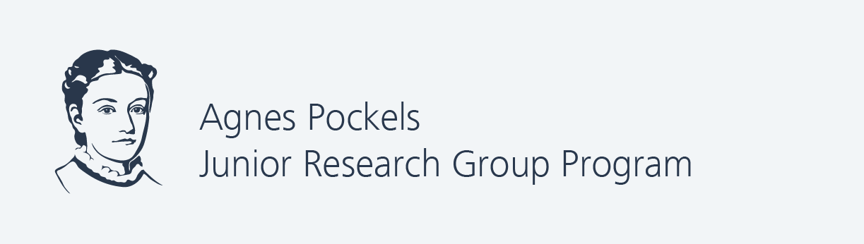 livMatS Agnes Pockels Junior Research Group Program Logo